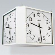 Uhrenwürfel, vierseitige analoge Innen-Uhr