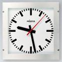 Reinraum-Uhr, quadratisch