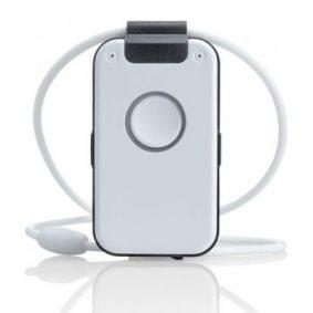 DECT-Notrufsender, Hausnotruf, Notruftelefon, Seniorentelefon, Sturzsensor, schnurloses Notruftelefon, Medaillontelefon