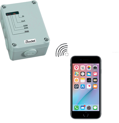 Amokalarm GSM Smartphone, Fernauslösegerät
