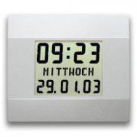 Digitaluhren, Innenuhren, LCD-Digitaluhr LC200 CW