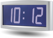 LCD-Digitaluhr DHF