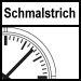 Schmalstrich